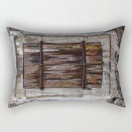 Wooden Window Rectangular Pillow