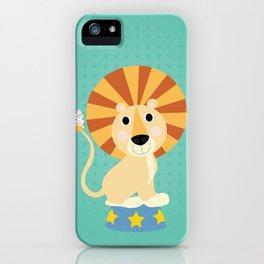 Circus Lion  iPhone Case