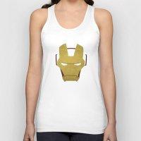 ironman Tank Tops featuring Ironman by Liquidsugar