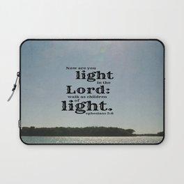 Ephesians 5 Light Lord Laptop Sleeve
