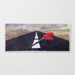 penna macchia Canvas Print