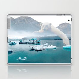 Polar Bear Iceberg Laptop & iPad Skin