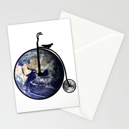 The bicycle of life Stationery Cards
