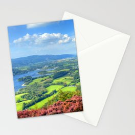 Autumn trip to Lake District, England Stationery Cards
