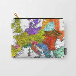 The Peoples of Europe According to Ptolemy Carry-All Pouch