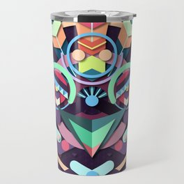 BirdMask Visuals - Peacock Travel Mug