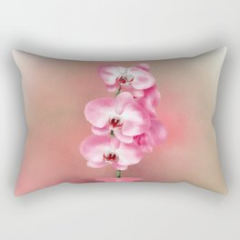 Pretty Orchids Rectangular Pillow