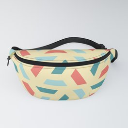 Modern Coloured Pattern Fanny Pack