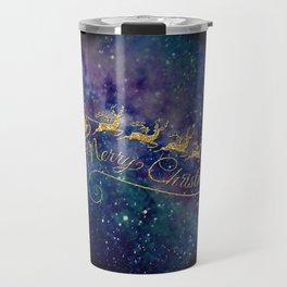 Santa Claus on Milky Way Travel Mug