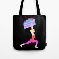 balance Tote Bags featuring Balance by Tyler Spangler