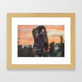 Carlota II Framed Art Print