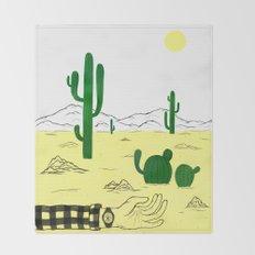 Man & Nature - The Desert Throw Blanket