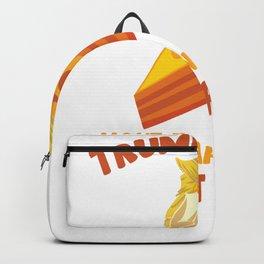 trumpkin pie trump donald president thanksgiving Backpack