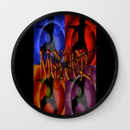 Mgyver 7 Wall Clock
