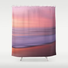 Soft Blushing Sky Shower Curtain