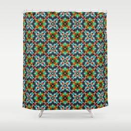 Native American Fashion Pattern Seven Shower Curtain