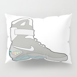 Air Mag grey - back to the future Pillow Sham