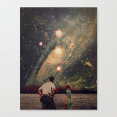 Light Explosions In Our Sky Canvas Print