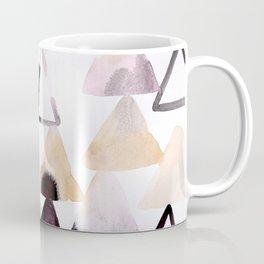 Moody Triangles Coffee Mug