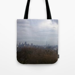 View of London from Hampstead Heath Tote Bag