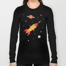 Spaceship! Long Sleeve T-shirt