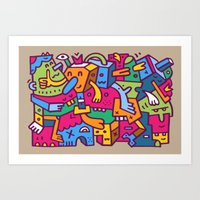 Crankola Squimp Art Print