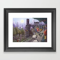 The Tower of Beezl Framed Art Print