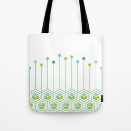 Hexa Tote Bag
