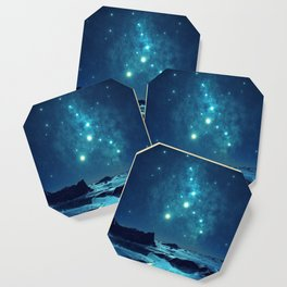 Blue Sky Night Coaster