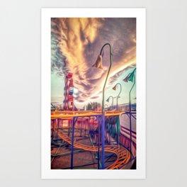 Country fair Art Print