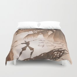 The Tale of Three Brothers Duvet Cover
