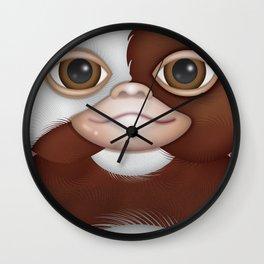 Fluffy Selfie Wall Clock