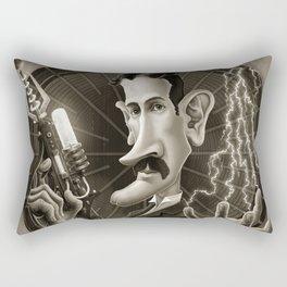 Nikola Tesla Rectangular Pillow