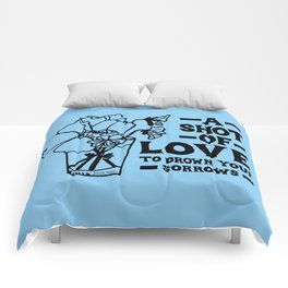 A Shot Of Love Comforters