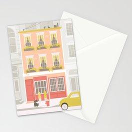 City Street Stationery Cards