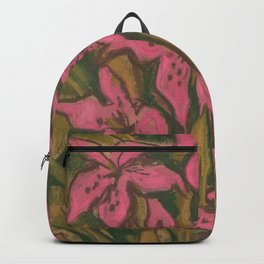 Pink Lilies Backpack