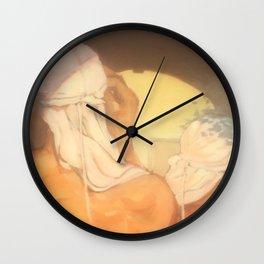 Blanc Wall Clock