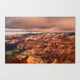 Morning 6011 - Cedar Breaks National Monument, Utah Canvas Print