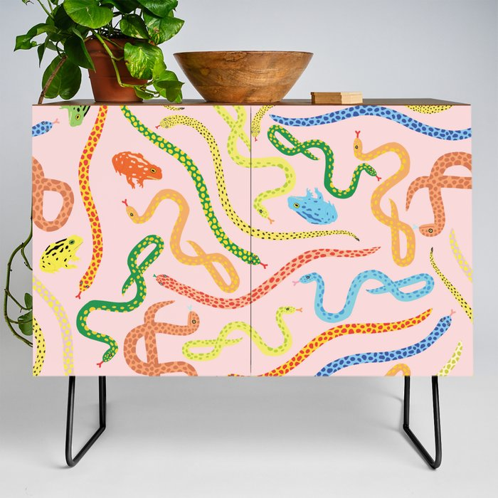 Snakes_and_Frogs_Credenza_by_Lorien_Stern__Black__Walnut