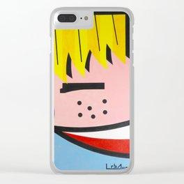 Little Blondie - Paint Clear iPhone Case