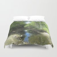 brand new Duvet Covers featuring A Brand New Journey by Gwendalyn Abrams