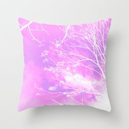 Sweet Trees Throw Pillow