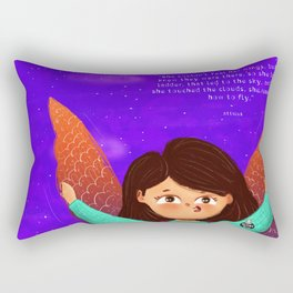 Wings to fly! Rectangular Pillow