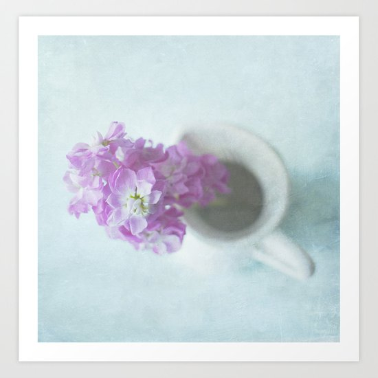 Pretty-Square Art Print