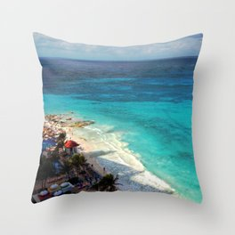 I really love Cancun. Throw Pillow