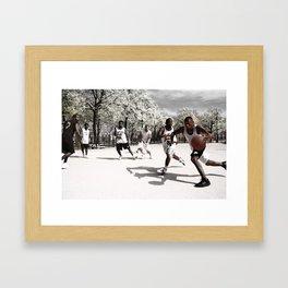 Ball Game Framed Art Print