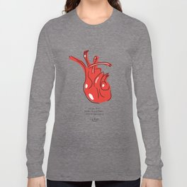 Frida Heart Long Sleeve T-shirt