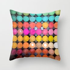 Any Color You Like Throw Pillow