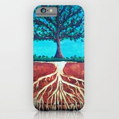 A tree only stands tall because of it's roots. iPhone 6s Slim Case