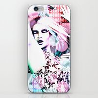 rave iPhone & iPod Skins featuring Rave by Vaia